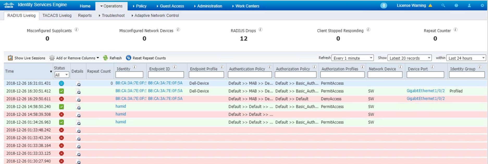 802 1X Mac Authentication Bypass (MAB) – Hamidreza Talebi