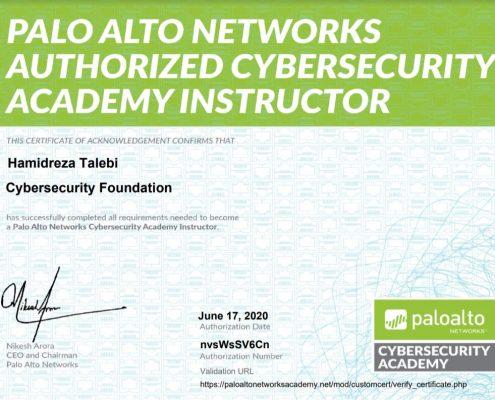 Hamidreza Talebi CyberSecurity Foundation